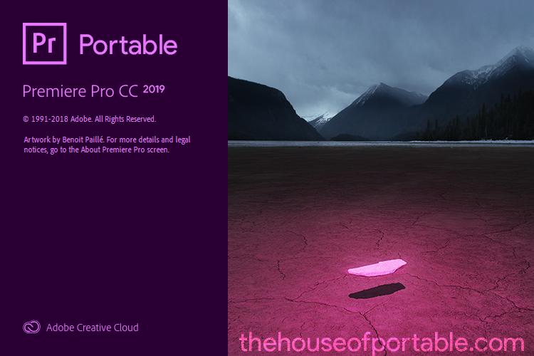 adobe premiere pro cc 2019 portable