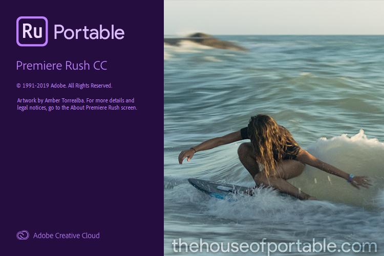 adobe premiere rush cc portable